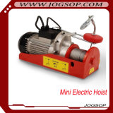 Mini elektrische Hebevorrichtung-elektrische Drahtseil-Hebevorrichtung 100kg-1000kg