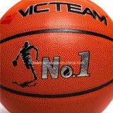 Официальный размер 7 ODM баскетбола спички 5 PU кожаный
