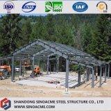 Construction préfabriquée de cadre de porte pour l'entrepôt avec l'écran