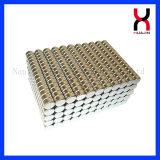 Magnete rotondo del rivestimento del nichel della borsa del magnete di cuoio dei dischi (D10*2mm)