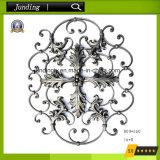 Dekoratives bearbeitetes Eisen-Rosen-Blumen-Panel für dekorative Eisen-Gatter-Dekoration