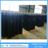 Cilindro de gás industrial de alta pressão do diâmetro de ISO9809 40L 150bar 219mm