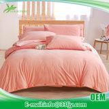 Lecho rojo y negro del algodón cómodo de Eco para el dormitorio
