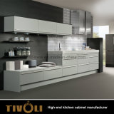 Мебель кухни лоска PVC конструкции Италии высокая (AP011)