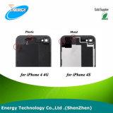 Nieuw voor iPhone 4 4G het Compatibele AchterWit/Zwarte de van de Vervanging van de Dekking van de Batterij van de Deur van het Glas Achter