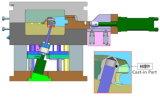 Прессформа заливки формы высокого давления алюминиевая на Бросать-в часть 22: )