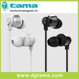 정제 셀룰라 전화 3.5mm 에서 귀를 위한 알루미늄 합금 철사 통제 헤드폰