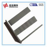 Plaques de carbure de tungstène d'agglomération de haute performance pour l'acier de découpage