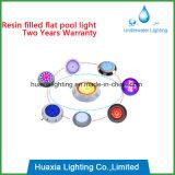Luz subacuática llenada resina del LED