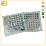 Impresión de encargo para la etiqueta autoadhesiva adhesiva