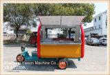 Автомобиль кухни электрического автомобиля колеса Ys-Et230A 3 передвижной