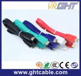 Purpere Vlakke Kabel HDMI Van uitstekende kwaliteit (F016)