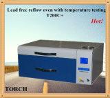 Loodvrije reflow oven met temperatuur Testen
