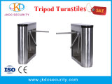 Semi-automática 304 Stainless Steel inteligente RFID Tripé Catraca com o Sistema de Controle de Acesso