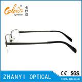 Стекел Eyeglass Eyewear высокого качества рамка Semi-Rimless Titanium оптически (8405)