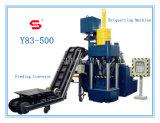Machine hydraulique de presse à briqueter de sciure en métal Y83-500
