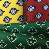 習慣によって印刷される人の方法絹のハンカチーフ