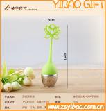Forma resistente de alta temperatura dos lótus do filtro do chá do aço inoxidável