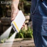 Kingmaster Powerpack 20000 de alta velocidad de carga LED Cargador portátil de la energía del banco (blanco)