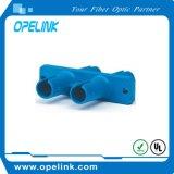 St  Duplex óptico SM del adaptador de fibra