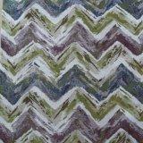 Tessuto ondulato del sofà del poliestere del grano del jacquard
