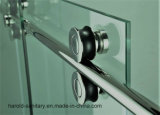 porta deslizante do rolo do cerco do chuveiro do vidro Tempered de 8-10mm