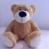 Urso vermelho feito sob encomenda da peluche do animal enchido do luxuoso