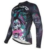 人の防風の長い袖は方法循環の自転車のジャージーのジャケットを冷却する