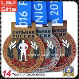 カスタマイズされた金属賞の連続したスポーツメダル