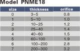 Ausschnitt-Spitze-Düsen-Spitze des Modell-Pnme18 britische