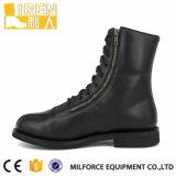 De goedkope Laarzen van het Gevecht van het Leer van de Koe van de Prijs Militaire