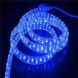平らな高圧LEDロープライト2年の保証4ワイヤー