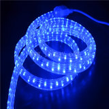 Deux ans de la garantie 4 de fil de la tension DEL de lumière plate de corde