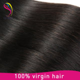 Prolonge 100% malaisienne de tissage de cheveux humains de Remy de cheveu de Vierge non transformée
