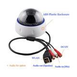 P2p 1.3MPのVandalproofドーム屋内監視のための赤外線IPのカメラ