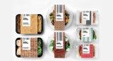 Empaquetadora de Thermoforming de los alimentos de preparación rápida