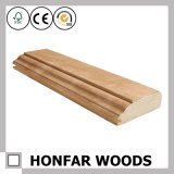 Wood Ceiling Decorative Crown Moulding Belt Line for Interior