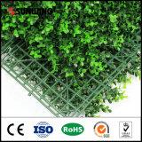Coberturas de cascalho de cerca de folhas verdes artificiais de alta qualidade