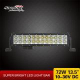 """13.5 """" punti/barre chiare dell'inondazione SUV ATV 72W LED per i camion"""