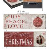 De Deur die van het huis het Houten Teken van het Huisdier van het Teken van het Strand van het Teken van Kerstmis hangen