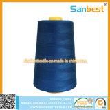 Alta calidad del hilo de coser hecho girar del poliester