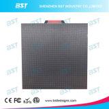 P6.25 실내 500의 X 500 mm 임대 발광 다이오드 표시 경조 및 획일한 LED 영상 벽