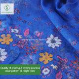 Sjaal van de Sjaal van de Polyester van de Viscose van 100% de Bloemen Afgedrukte Verkoopbare Vierkante