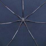 مظلمة - أزرق لون 3 يدويّة يطوي مظلة