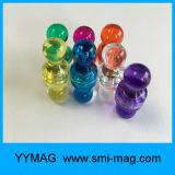 Dekorative bunte freie magnetische Stifte für Kühlraum