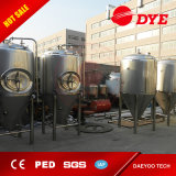 El tanque micro cónico de la fermentación de la cerveza del acero inoxidable