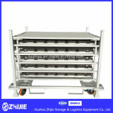 Metallstapelbare Ladeplatten-Autoteil-Zahnstange