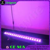 방수 옥외 18X12W DMX LED 벽 세탁기 빛