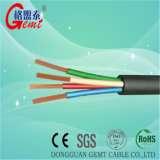 Cable de cobre de cable submarino de la bomba sumergible cable sumergible