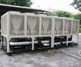Tipo dobro de refrigeração ar refrigerador do compressor de água do parafuso